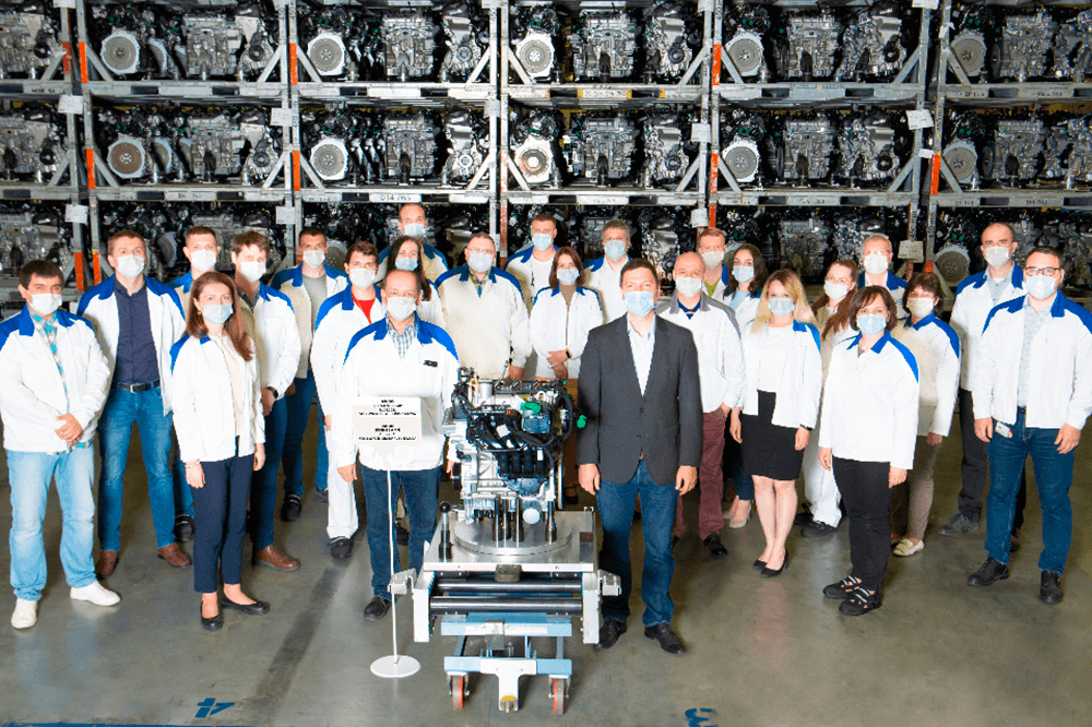 Volkswagen Group Rus produced 700,000th engine at its plant in Kaluga