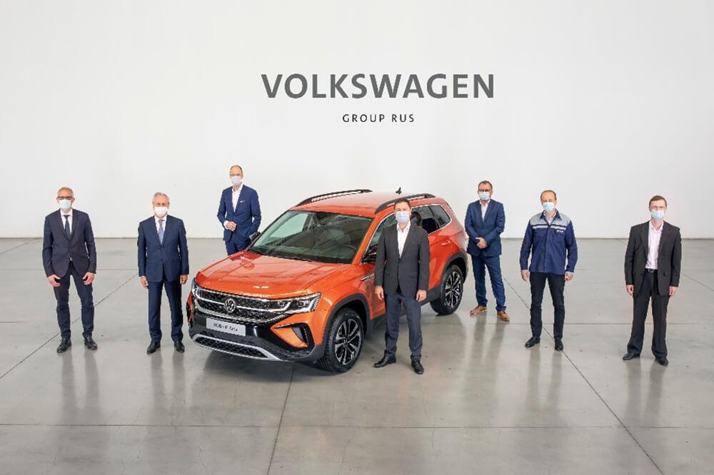 Volkswagen Group Rus Launches Volkswagen Taos Production at Nizhny Novgorod Plant