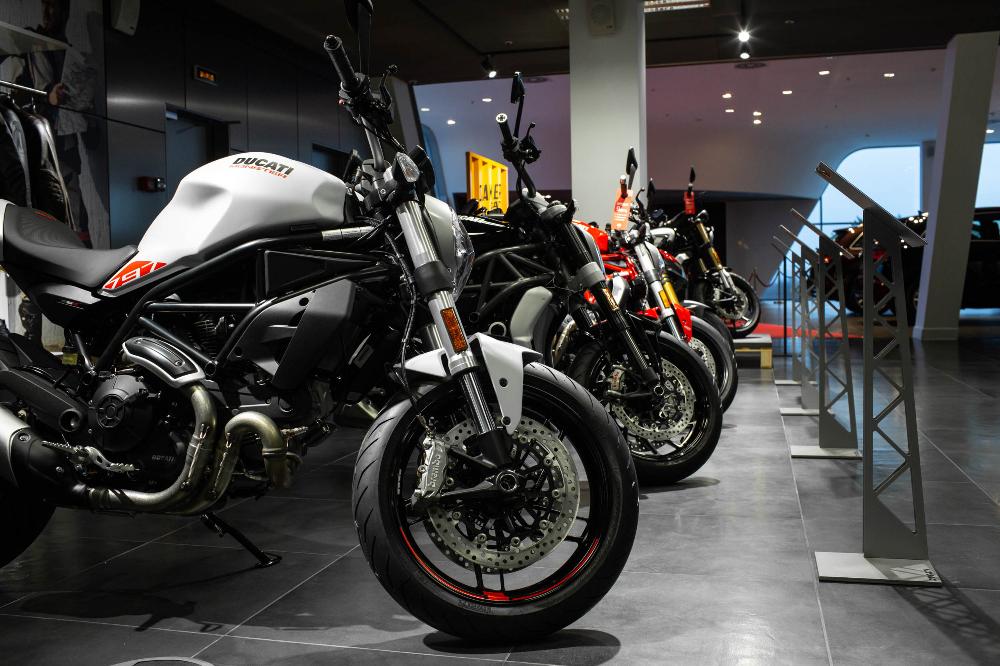 Новый старт Ducati в Северо-Западном регионе: обновлен шоу-рум марки в Санкт-Петербурге